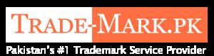 trade mark logo white
